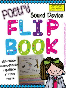 Sound Devices in Poetry Flip-book