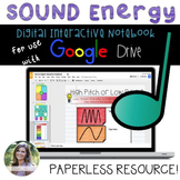 GOOGLE Sound Digital Interactive Notebook