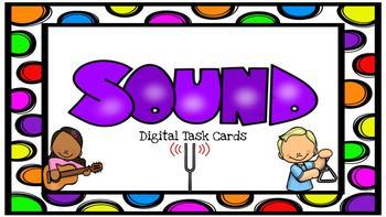 Sound Digital Task Cards