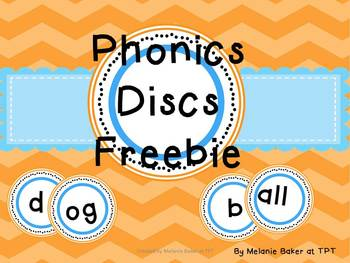 Sound Discs for Phonics Instruction FREEBIE