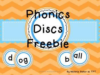Sound Discs for Phonics Instruction FREEBIE