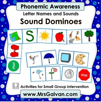 Sound Dominoes Phonemic Awareness PA mrsgalvan