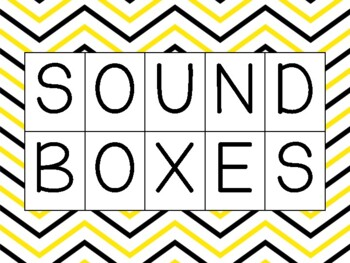 Sound/Elkonin Boxes for Guided Reading Groups