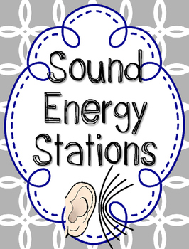 Sound Energy Station Investigations {Mini Hands On Labs}