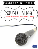 Sound Energy Assessment with Constructed Response