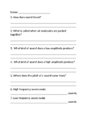 Sound Energy Brainpop Worksheet