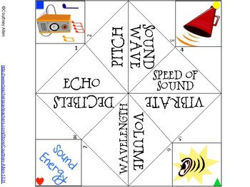 Sound Energy Cootie Catcher