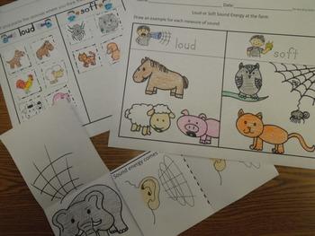 Sound Energy Kinder Science Activities