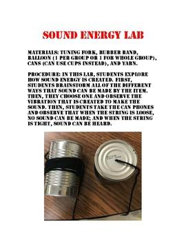 Sound Energy Lab
