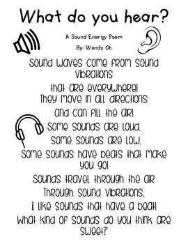 Sound Energy Poem