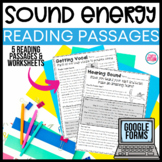 Sound Energy Reading Passages | Text Features Reading Passages
