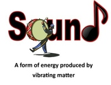 Sound Energy Vocabulary Posters