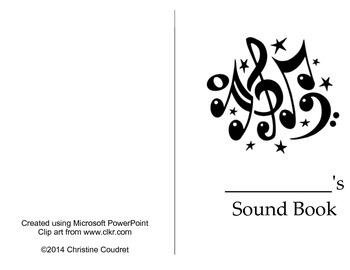 Sound Exploration Book