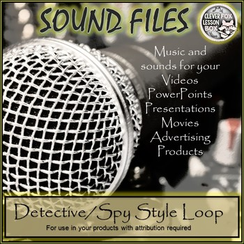 Sound File Detective Style