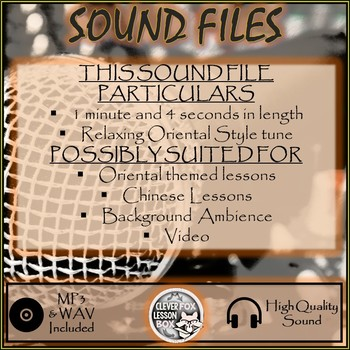 Sound File Relaxed Oriental Style