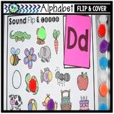 Alphabet Activity Center | Sound Flip & Cover