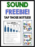 Sound Freebie- Tap Those Bottles! Pitch