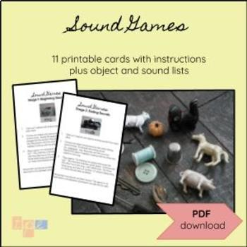 Sound Game Cards