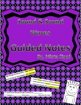 Sound & Sound Waves Guided Notes