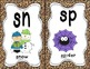 Sound Helper Charts-38 Posters Featuring Consonant Blends,