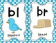 Sound Helper Charts- Consonant Blends, Digraphs, & Trigraphs - Blue Polka Dots