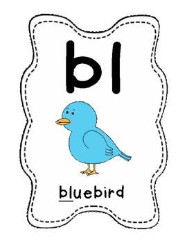 Sound Helper Charts- Consonant Blends, Digraphs, & Trigraphs - Full Page!