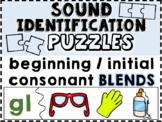Sound Identification Puzzles: Beginning / Initial Consonan