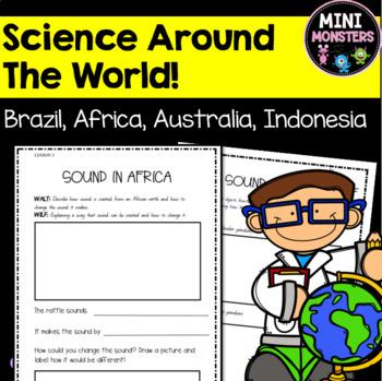 Sound In Australia Science Worksheet Freebie