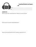 Sound Inquiry Lab Notes