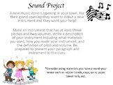 Sound Instrument Project