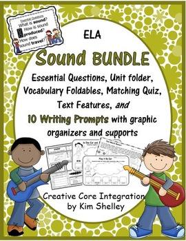 Sound Integrated Science Language Arts BUNDLE