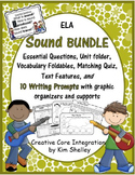 Sound Integrated Science Language Arts BUNDLE