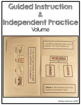 Sound Interactive Notebook (1st Grade)