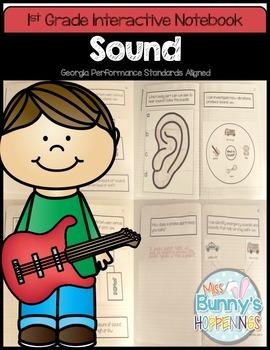 Sound Interactive Notebook (1st Grade)