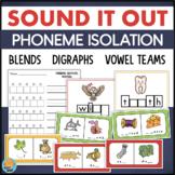 Phonemic Awareness Centers: Blends, Digraphs, Vowels
