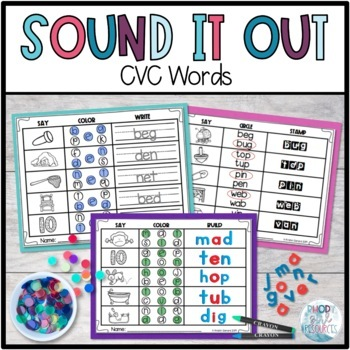 Sound It Out: CVC Words