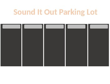 Sound It Out Parking Lot