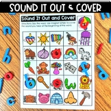 Sound It Out and Cover Beginning Sounds   Interactive Acti