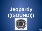 Science Sound Jeopardy Game (power point)- NGSS Waves and