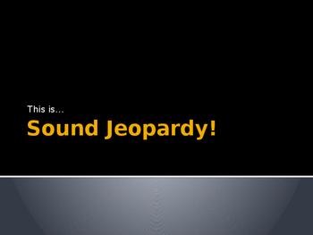 Sound Jeoprady