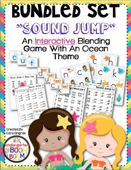 "Phonics Blending Game - ""Sound Jump"" Bundle K/1"