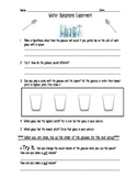 Sound Lab Activity: Water Xylophone
