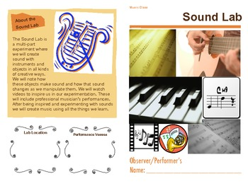 Sound Lab- Music Class Experimenting