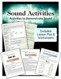 Sound Activities & Lesson Plans