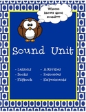 Sound Lesson Plan Unit