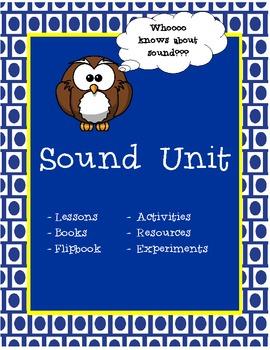 Sound Lesson Plan Unit