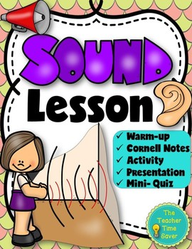Sound Lesson- Waves Unit (presentation, notes, and activity)