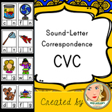 Short Vowel Sound-Letter Correspondence - CVC - Word Work