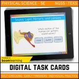Sound Light Mirrors & Lenses Digital Task Cards - Boom Car