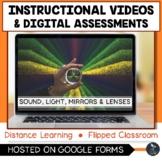 Sound, Light, Mirrors and Lenses Videos & Digital Quiz - D